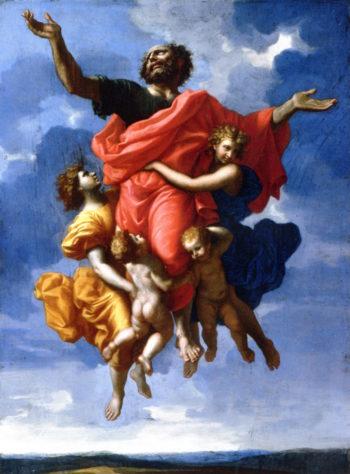 The Rapture of Saint Paul | Nicolas Poussin | oil painting