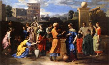 Eliezer and Rebecca | Nicolas Poussin | oil painting