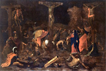 The Crucifixion | Nicolas Poussin | oil painting