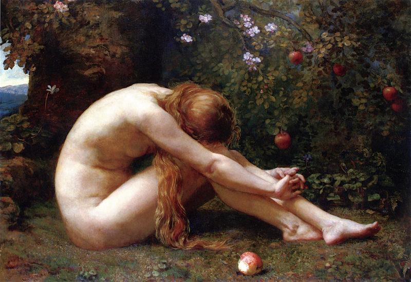 Eve | Anna Lea Merritt | oil painting