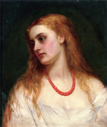 Ophelia | Charles Sillem Lidderdale | oil painting