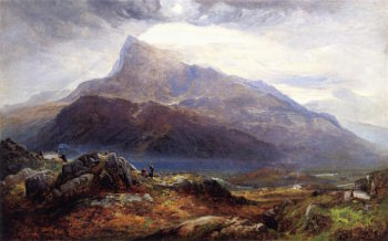 Moel Siabod from near Capel Curig