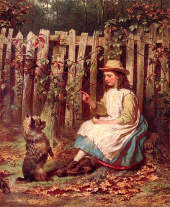Beg Sir! | Alfred Fowler Petten | oil painting