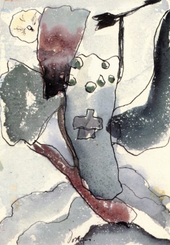 Cross and Weather Vane (study) | Arthur Dove | oil painting