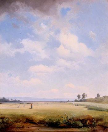 Haymaking | August Albert Zimmermann | oil painting