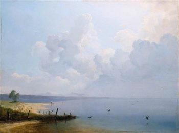 Lake of Constance | August Albert Zimmermann | oil painting