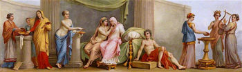 An Epithalium | Antonio Zucchi | oil painting
