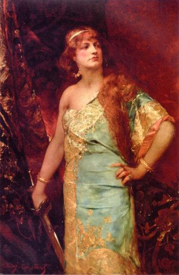 Judith | Benjamin Constant | oil painting