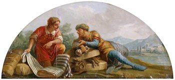 Commerce | Antonio Zucchi | oil painting
