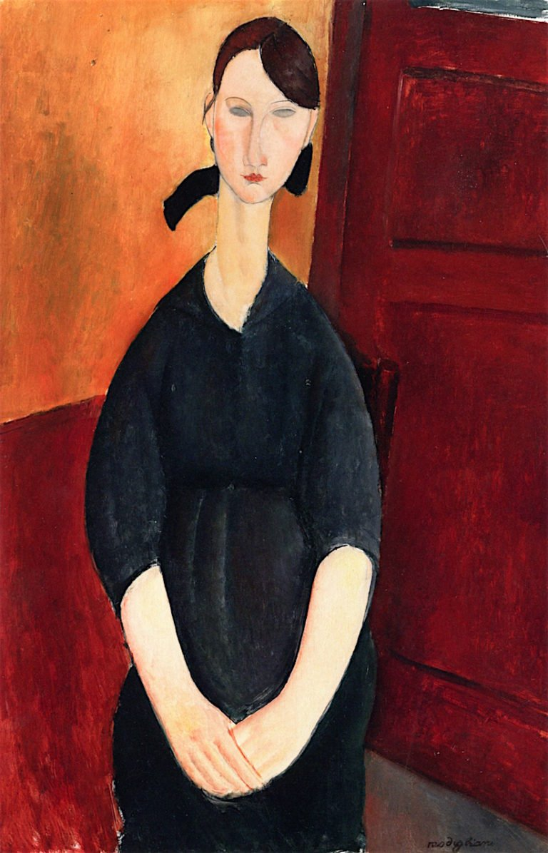Paulette Jourdain | Amedeo Modigliani | oil painting