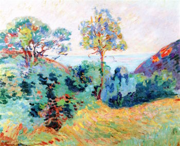 Landscape of Southern France | Armand Guillaumin | oil painting