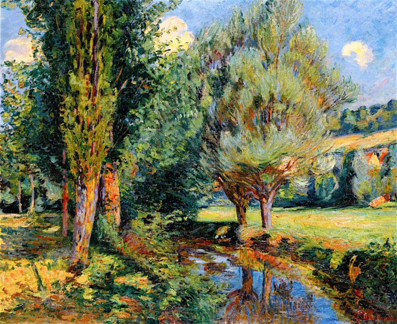 Banks of the River | Armand Guillaumin | oil painting