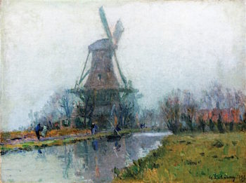 The Mill | Albert Lebourg | oil painting