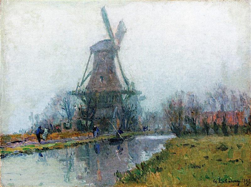 The Mill | Albert Lebourg | oil painting