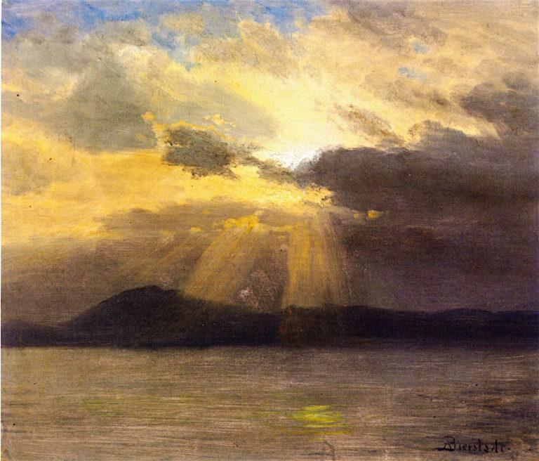 After the Storm | Albert Bierstadt | oil painting