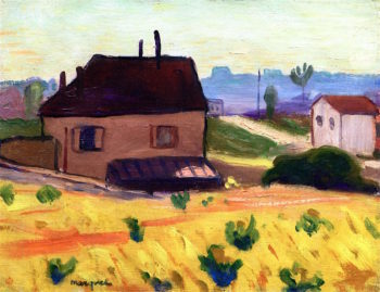 House in Arcueil - Cachan | Albert Marquet | oil painting
