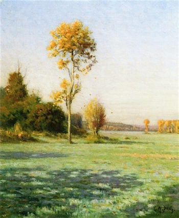A Frosty Morning in October | Charles Harold Davis | oil painting
