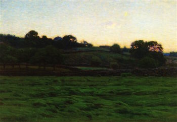 Midsummer Twilight | Charles Harold Davis | oil painting