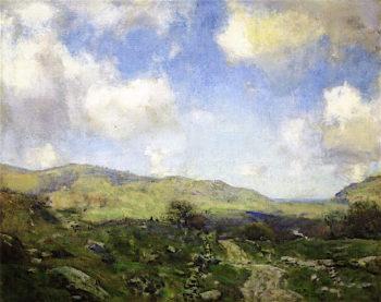In April   Charles Harold Davis   oil painting