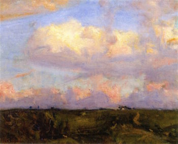 Afternoon Clouds | Charles Harold Davis | oil painting