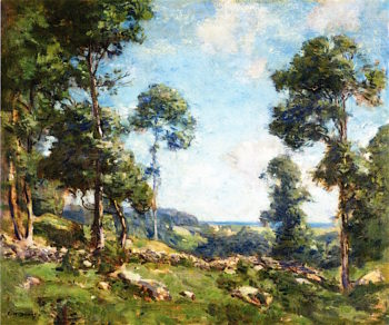 Forest Landscape | Charles Harold Davis | oil painting