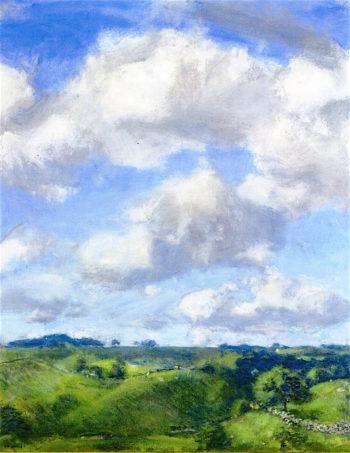 Summer Uplands   Charles Harold Davis   oil painting