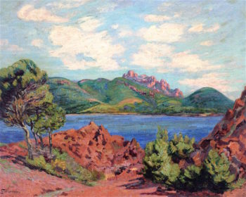 The Bay at Agay | Armand Guillaumin | oil painting