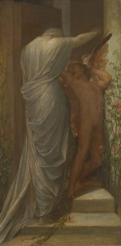 Love and Death | George Frederic Watts | oil painting