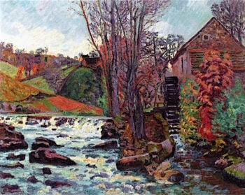 The Bouchardon Mill at Crozant | Armand Guillaumin | oil painting