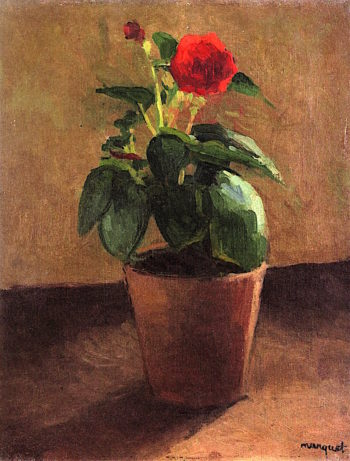 Pot of Flowers | Albert Marquet | oil painting
