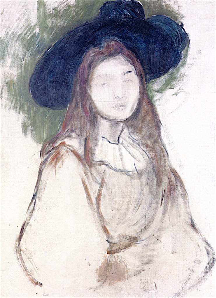 Julie Manet in a Liberty Hat | Berthe Morisot | oil painting