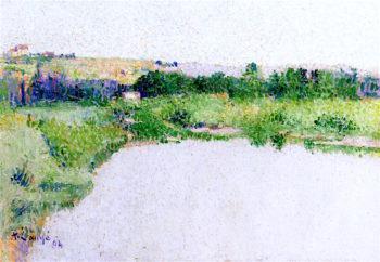 Landscape | Achille Lauge | oil painting