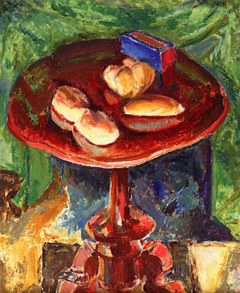 The Red Table | Alfred Henry Maurer | oil painting