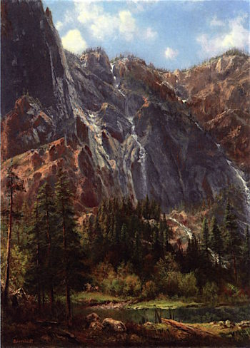 White Mountain | Albert Bierstadt | oil painting