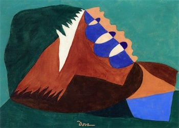 Departure from Three Points | Arthur Dove | oil painting