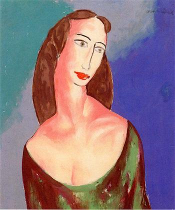 Portrait of Janet | Alfred Henry Maurer | oil painting