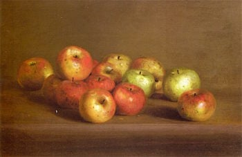 Fourteen Apples | Charles Ethan Porter | oil painting