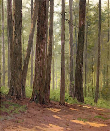Forest Interior | Charles Warren Eaton | oil painting