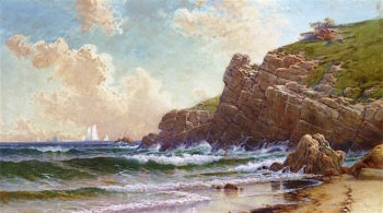 Afternoon Gust | Alfred Thompson Bricher | oil painting