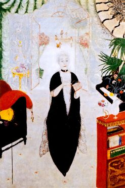 Portrait of My Mother | Florine Stettheimer | oil painting