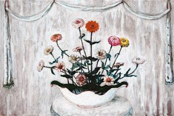 Zinnias | Florine Stettheimer | oil painting