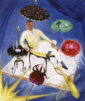 Portrait of Joseph Hergesheimer | Florine Stettheimer | oil painting