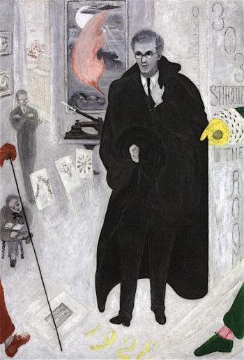 Portrait of Alfred Stieglitz | Florine Stettheimer | oil painting