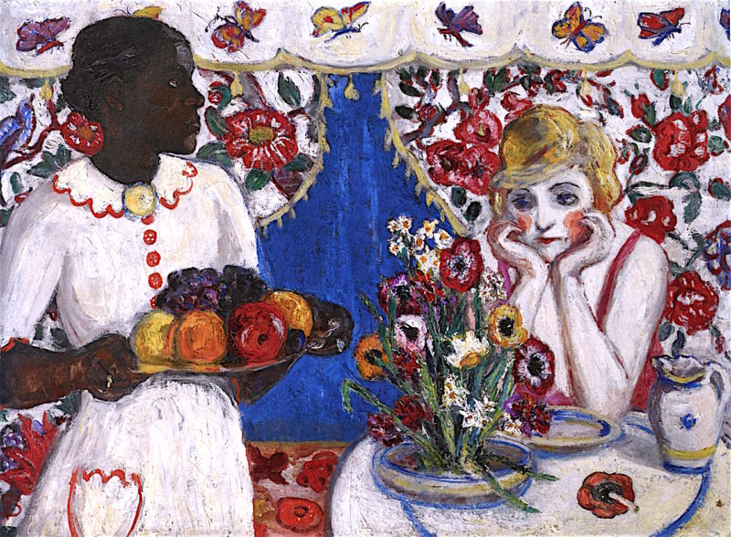 Jenny and Genevieve | Florine Stettheimer | oil painting