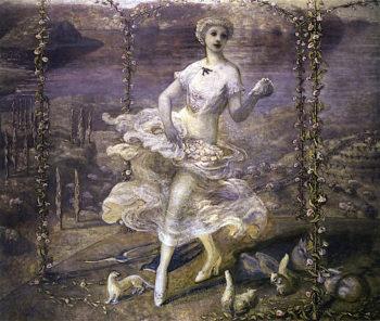 Spring | Florine Stettheimer | oil painting