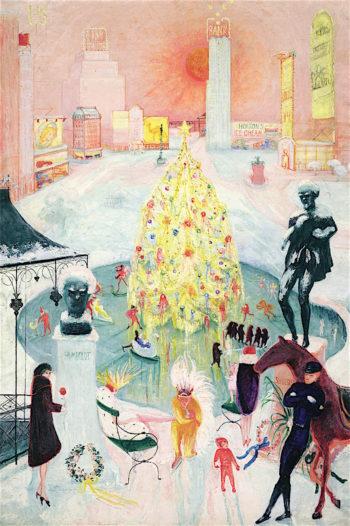 Christmas | Florine Stettheimer | oil painting