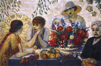 Family Portrait I | Florine Stettheimer | oil painting
