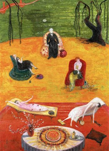 Heat | Florine Stettheimer | oil painting