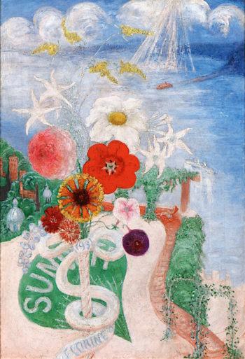 Sun | Florine Stettheimer | oil painting
