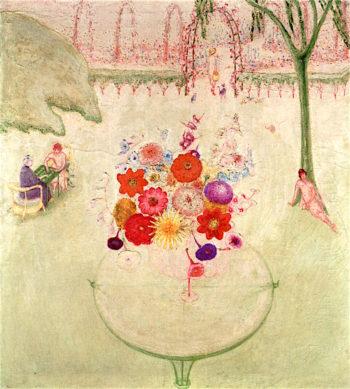 Russian Bank | Florine Stettheimer | oil painting